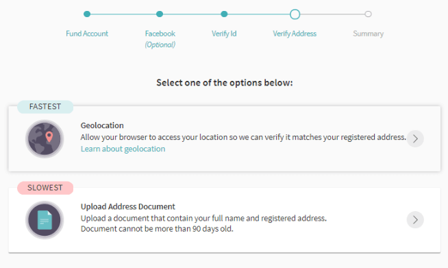 Верификация аккаунта в Skrill: шаг 5