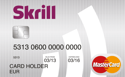 Заказ карты Skrill MasterCard