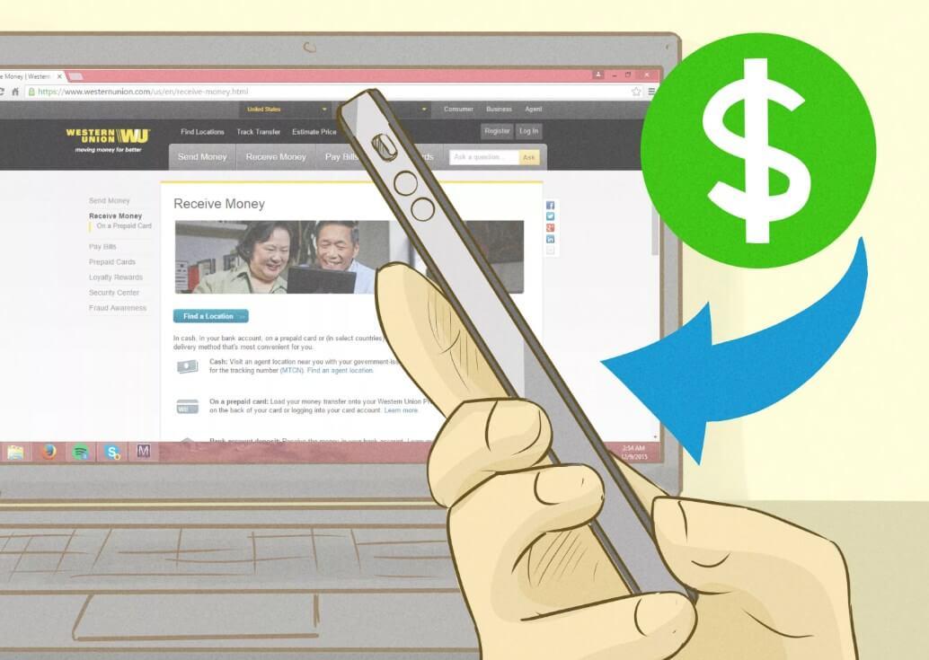Как перевести денежные средства через Western Union