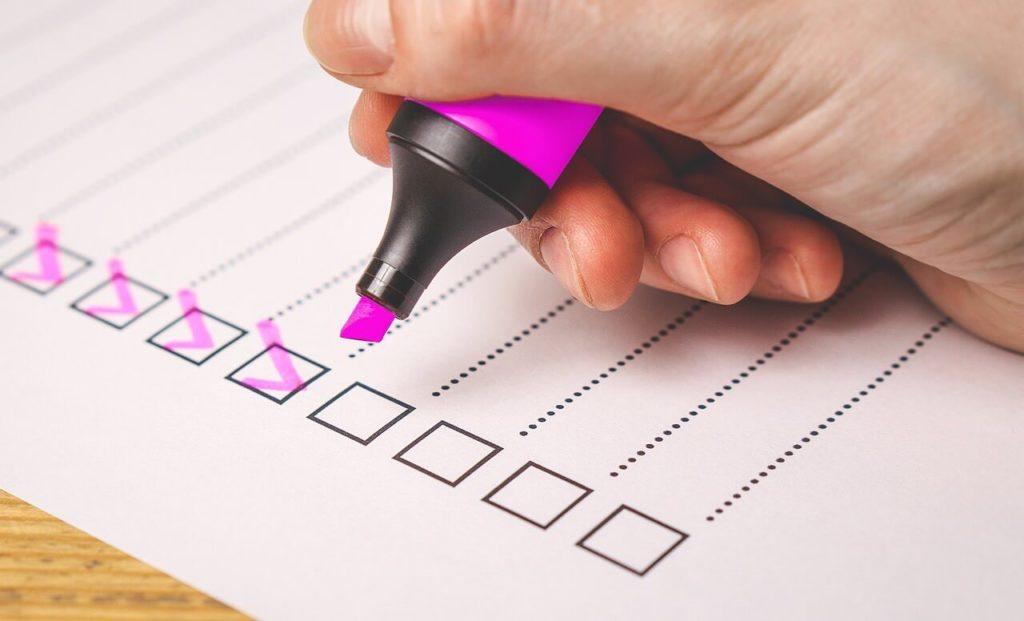 Прохождение тестов и опросов