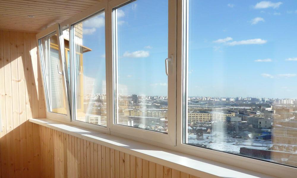 Остекление балконов, террас