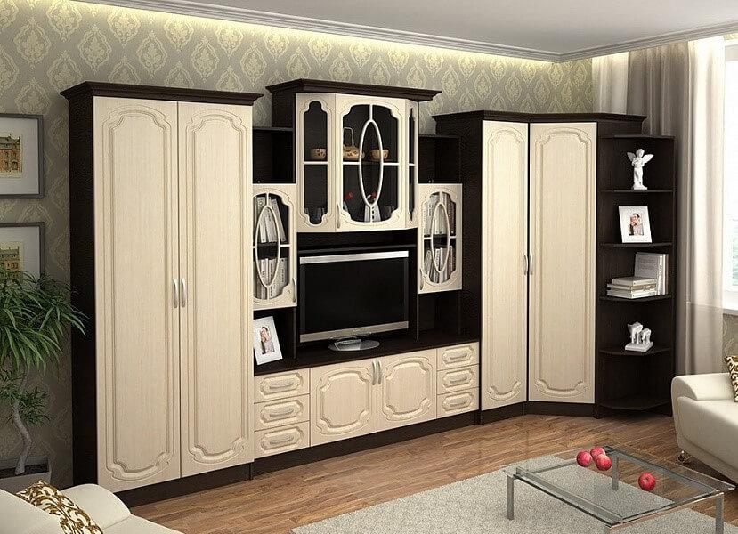 Сбор модульной мебели