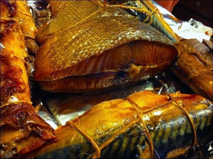 Копчение рыбы и мяса