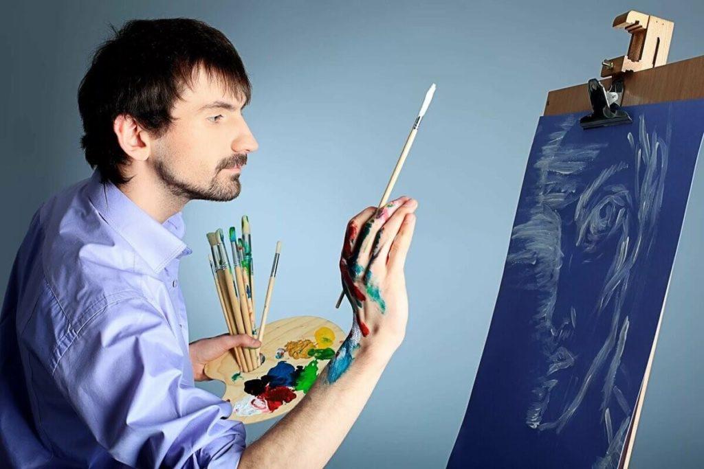 В предметы современного искусства