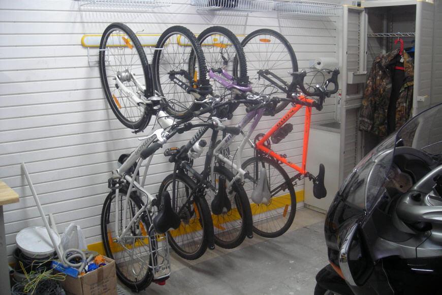 Сезонное хранение шин, велосипедов, инвентаря