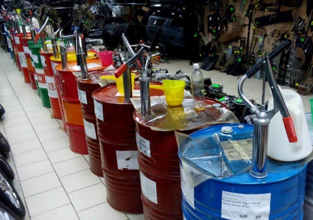 Продажа моторного масла