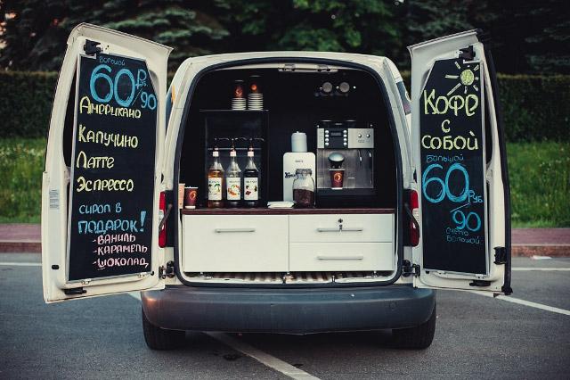 Закупка кофе и других расходников